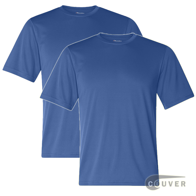 Champion Men's Double Dry Performance T-Shirt 2 Pieces Set - Blue