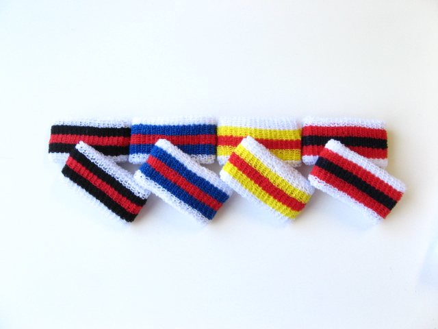 Youth Stripe Wristbands