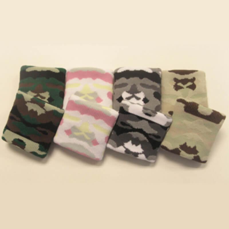 Camouflage wristband camo wristband