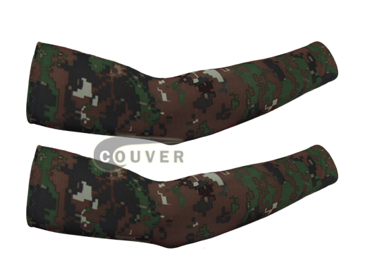 Camouflage Arm Shooting/Cooling Sleeves [6 pairs]
