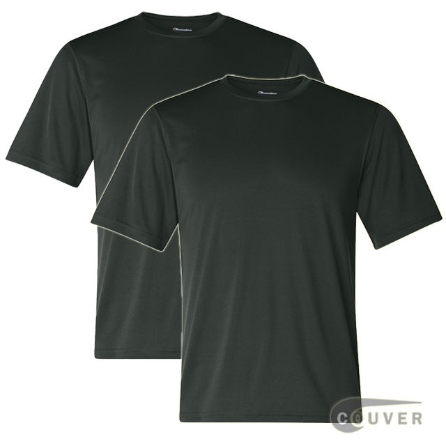 Champion Men's Double Dry Performance T-Shirt 2 Pieces Set - Dark-Green