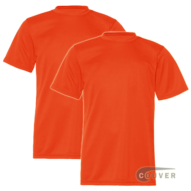 C2 Sport Youth Performance Tees Dark Orange - 2 Pieces Set