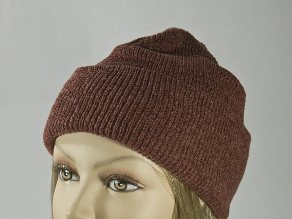 Brown Thick Winter Knit Hat [1piece]