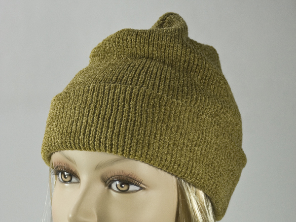 Gold Thick Winter Knit Hat [1piece]