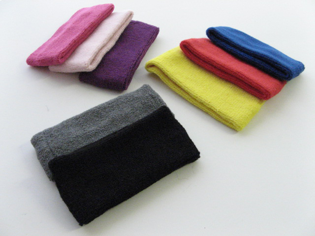 3inch Wide Terry Headbands for Fashion, Spa & Sports 3Pieces Set
