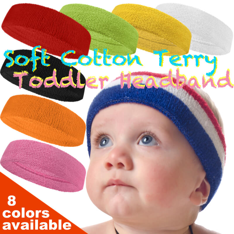 Baby Toddler Head Sweatbands