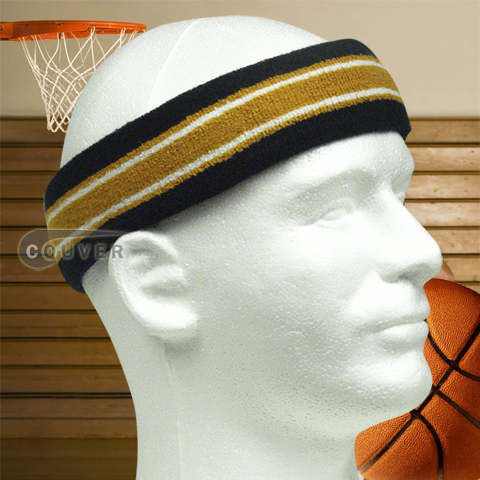 Basketball Headband MultiStriped