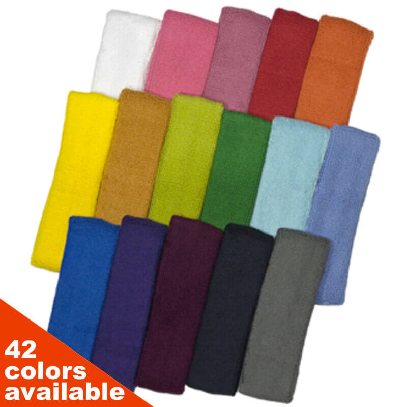 HB205 COUVER Quality Head Sweatband (Sweat Headband) Wholesale 12PC