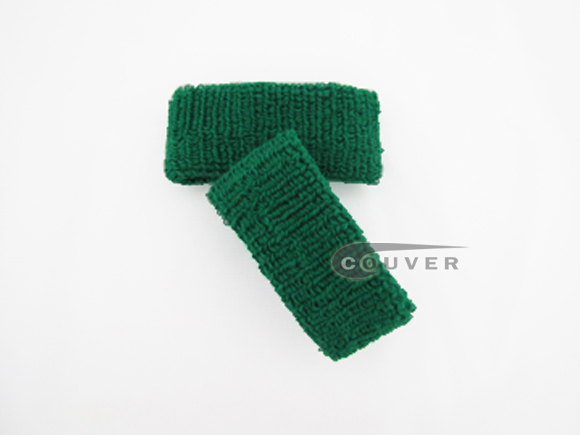 Green 1inch Cheap Wristbands Wholesale Adult Size 6PAIRS