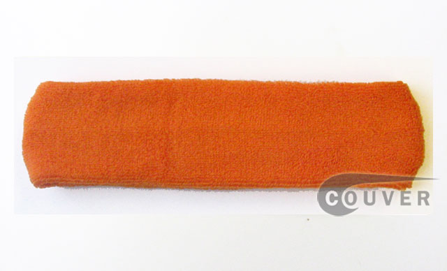 Large Orange Head Sweatbands Pro 3PIECES