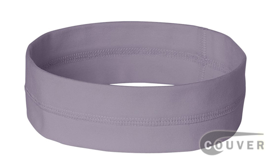 Lavender Ladies Nylon Headbands for women 3 pieces Set