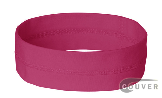 Pink Ladies Nylon Headbands for women 3 pieces Set