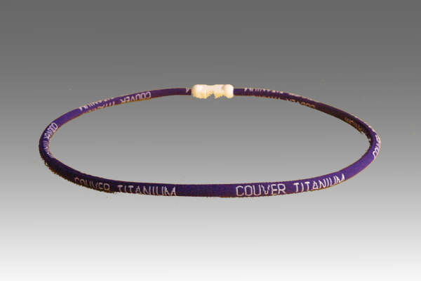 Purple Titanium Germanium Farinfrared Power Necklace