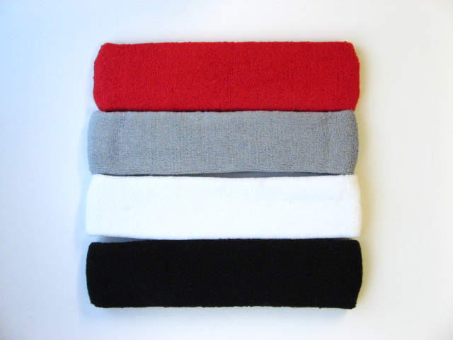 Sports Head bands Pro (Longer wider) mixed in color [6pieces]