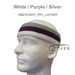 Couver Premium 3Colored Thick&Large Basketball Head Sweatband Pro 1PC