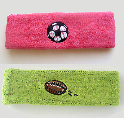 Order Custom Sweat Headbands With Logo Embroidery