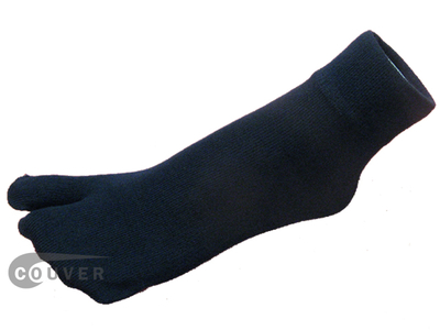 Navy Blue Split Toed Toe Socks Wholesale from Couver 6PAIRS