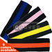 Black Striped COUVER Signature Head Sweatbands for Sports 12Pieces