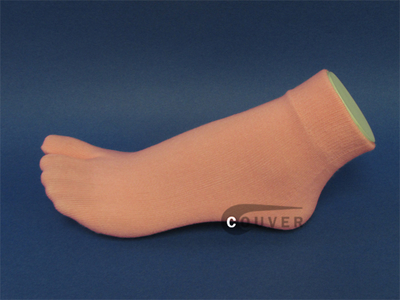 Light Pink Split Toed Toe Socks Wholesale from Couver 6PAIRS