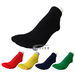 Solid / Plain Ankle Running Socks with cushion 3 Pairs Bulk Sale