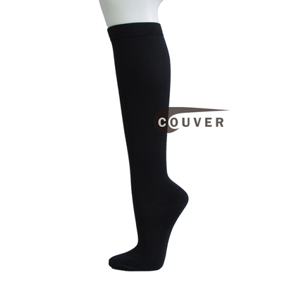 Couver Over-the-calf Knee High Travel and Dress Unisex Compression Socks
