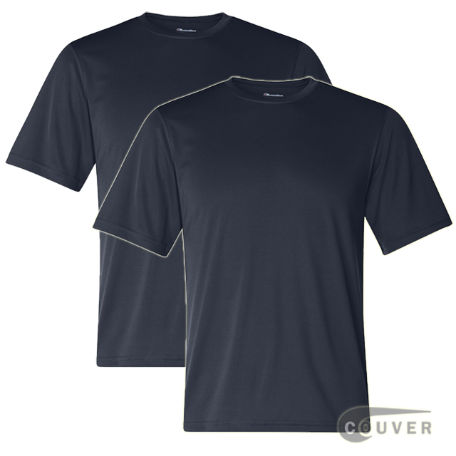 Champion Men's Double Dry Performance T-Shirt 2 Pieces Set - Navy