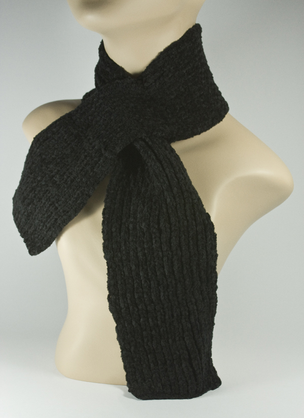 Baby Kid's Children's Scarf Black [1piece]
