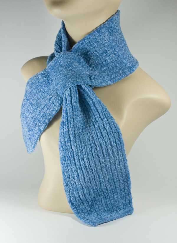 Baby Kid's Children's Scarf Bright Blue [1piece]