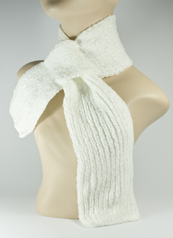 Baby Kid's Children's Scarf White [1piece]