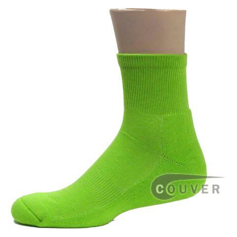 Couver Premium Quality Basketball Sports Quarter Socks