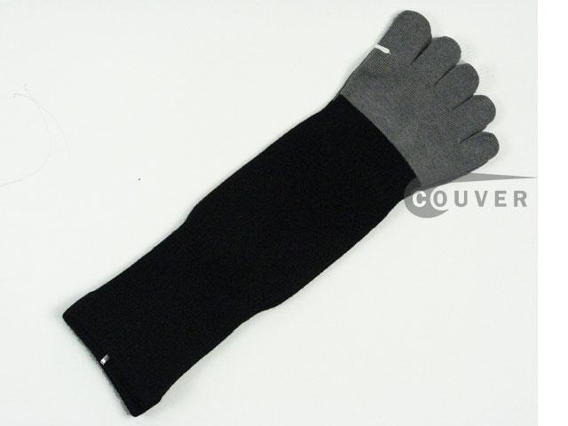 toe socks with bamboo charcoal fabric