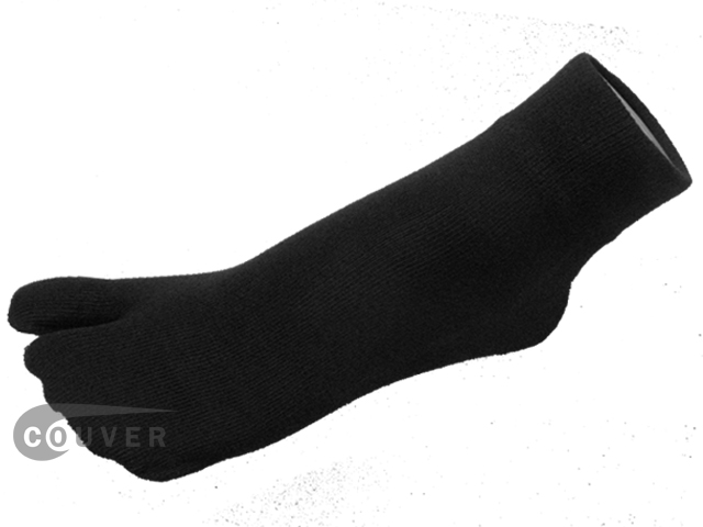 Black Split Toed Toe Socks Wholesale from Couver 6PAIRS