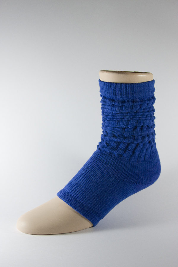 Blue Leg Warmer Dance Yoga Gymnastics Socks 3PAIRS