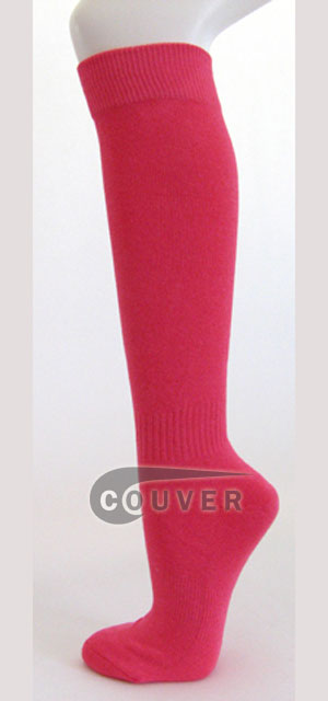 Bright Pink Knee high Socks Wholesale
