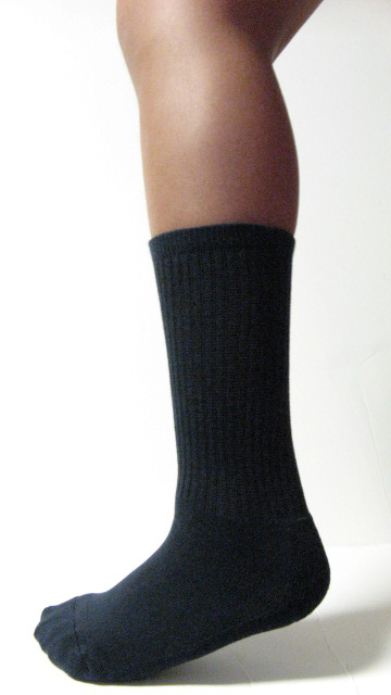 Black Kids Child Youth Midcalf Softball Baseball Socks Wholesale 6PAIRs