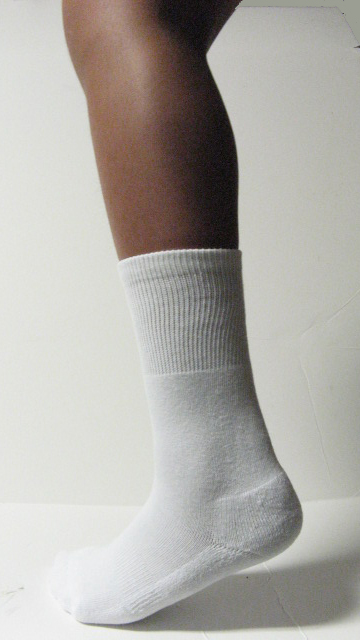 White Kids Child Youth Midcalf Softball Baseball Socks Wholesale 6PAIRs