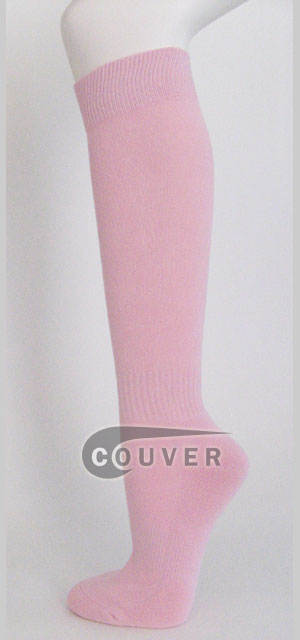 Light Pink Knee high Socks Wholesale