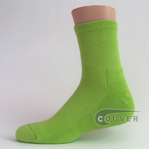 Wholesale socks now available at Wholesale Central Items #2: lime green athletic sports basketball socks Couver