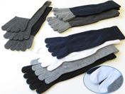 5 Finger & Split Toe Socks