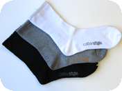 Cotton Quarter Midcalf Crew Sock
