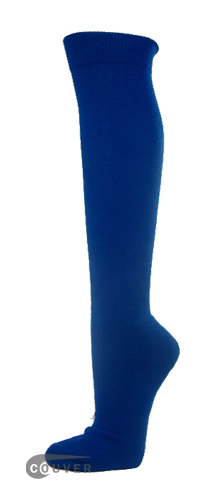 Blue Couver WHOLESALE Premium Quality Sports High Sock 1Dozen