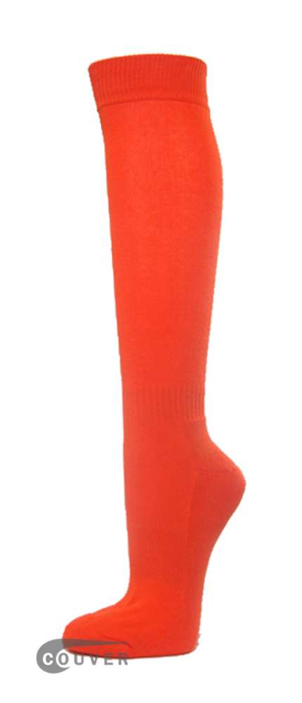 Dark Orange Couver WHOLESALE Premium Quality Sports High Sock 1Dozen