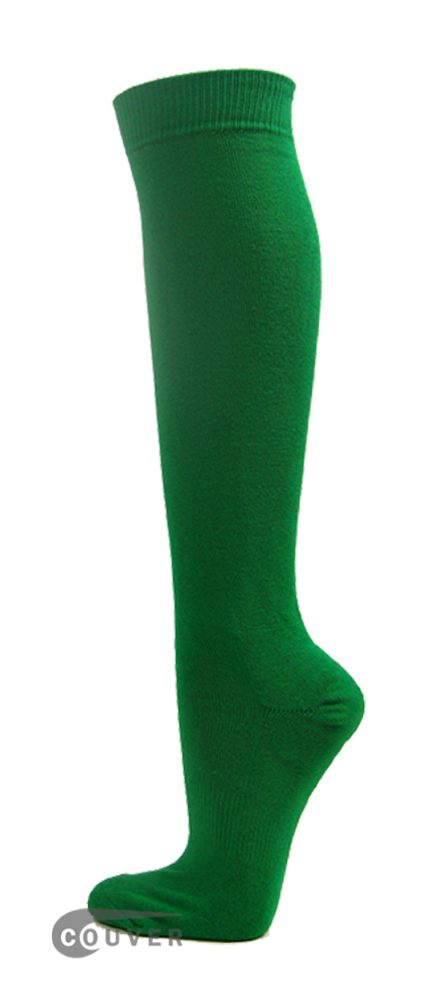Green Couver WHOLESALE Premium Quality Sports High Sock 1Dozen