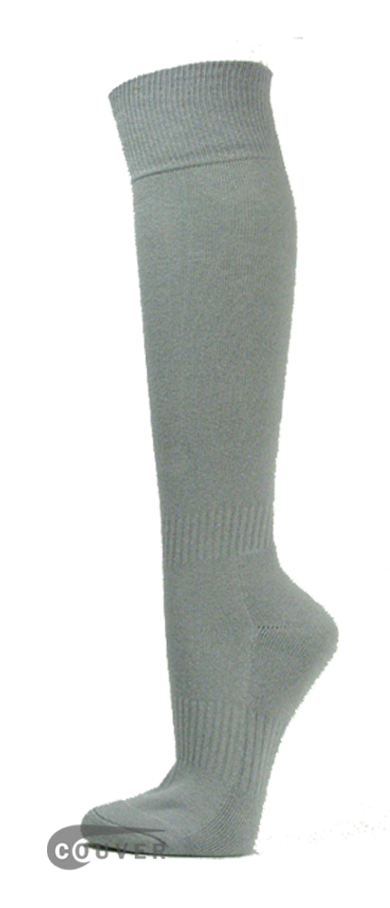 Light Gray Couver WHOLESALE Premium Quality Sports High Sock 1Dozen