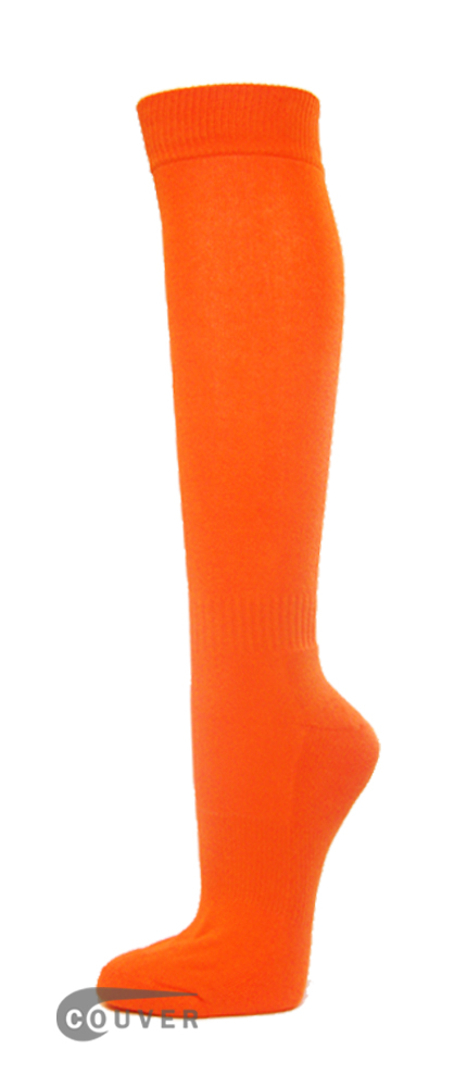 Light Orange Couver WHOLESALE Premium Quality Sports High Sock 1Dozen