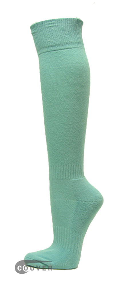 Light Sky Blue Couver WHOLESALE Premium Quality Sports High Sock 1Dozen