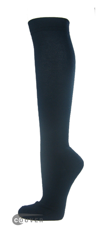 Navy Couver WHOLESALE Premium Quality Sports High Sock 1Dozen