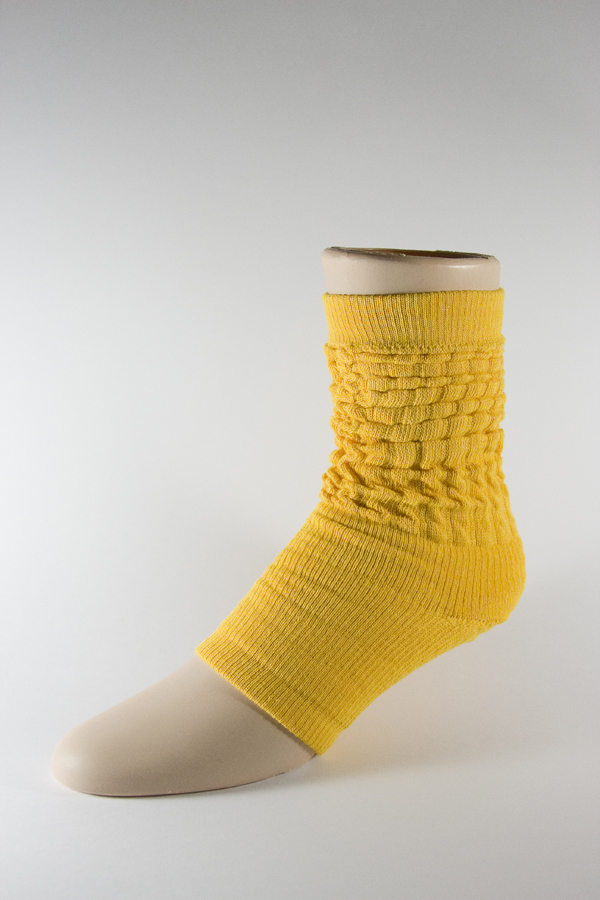 Yellow Leg Warmer Dance Yoga Gymnastics Socks 3PAIRS