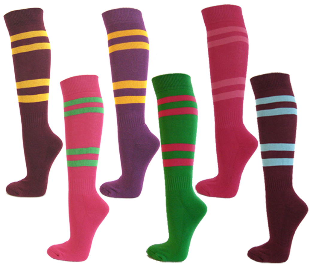 4stripe Softball Knee Sport Sock