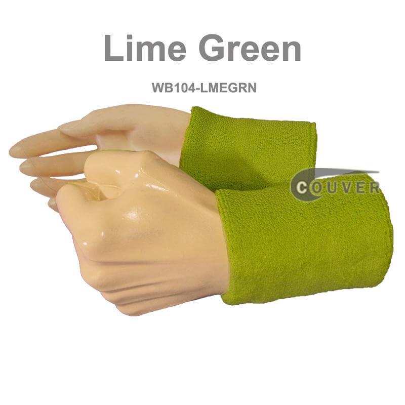 4 Premium Quality Wrist Sweatbands Athletic Wristbands